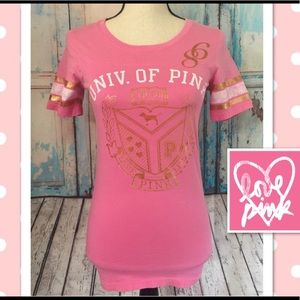 💗Victoria Secret PINK Scoop Neck Shirt💗Small